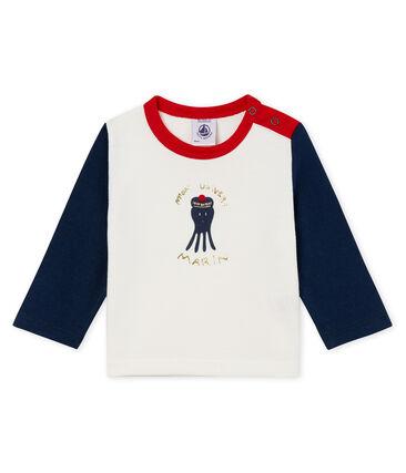 Tee-shirt manche longue à motif bébé garçon