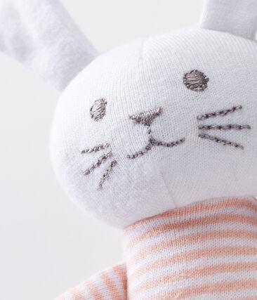 Doudou lapin bébé en jersey