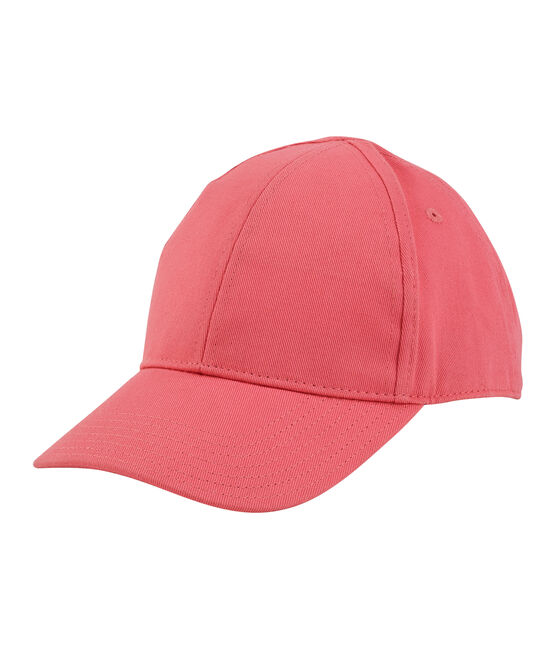 Casquette enfant mixte rose Groseiller