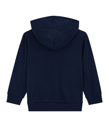 Sweat shirt enfant garçon bleu Smoking