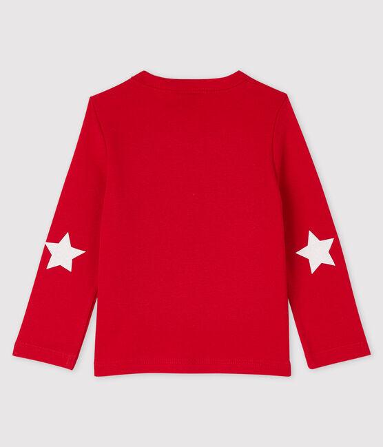 Tee-shirt bébé garçon rouge Terkuit