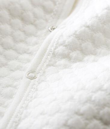 Dors bien sans pieds bébé mixte en tubique blanc Marshmallow