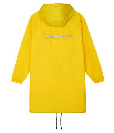 Coupe vent long femme jaune Shine