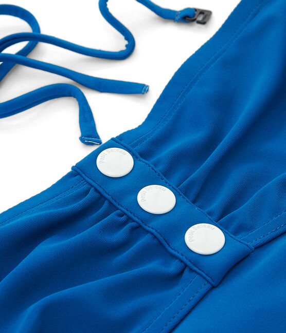 Maillot de bain 1 pièce femme bleu Riyadh