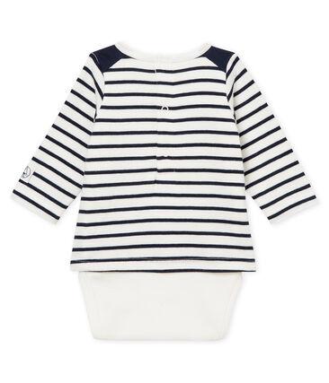 tailles 2-12 Deux par Deux Garçons T-shirt blanc Habillez