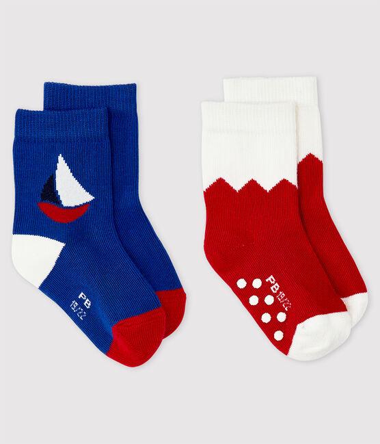 Lot de 2 chaussettes à motif bébé garçon lot .