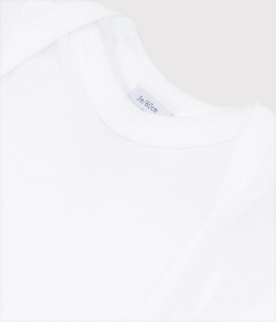 Body blanc manches courtes bébé blanc Ecume
