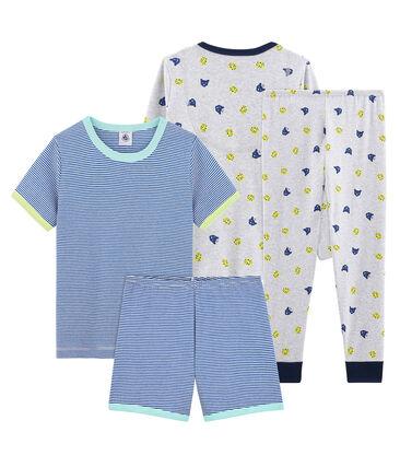 Duo pyjacourt et pyjama petit garçon lot .
