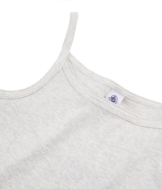 Chemise à bretelles Femme gris Beluga