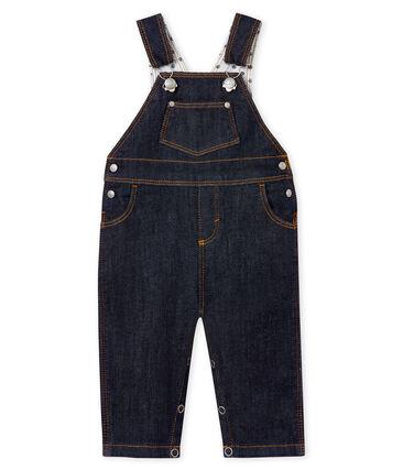 Salopette longue bébé mixte en jean