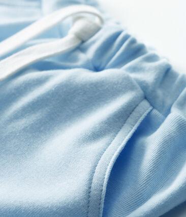 Short bébé garçon en maille bleu Fraicheur