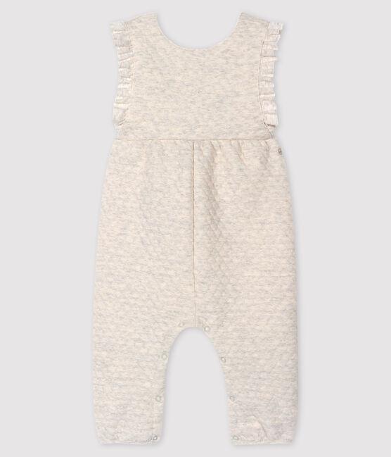 Salopette longue bébé fille gris Montelimar Chine