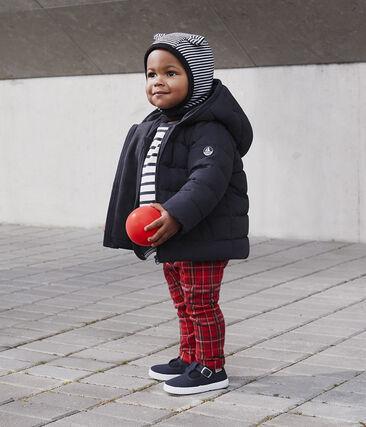Pantalon bébé garçon en maille à carreaux