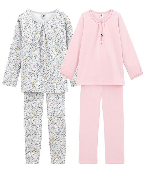 Lot de 2 pyjamas chauds petite fille lot .