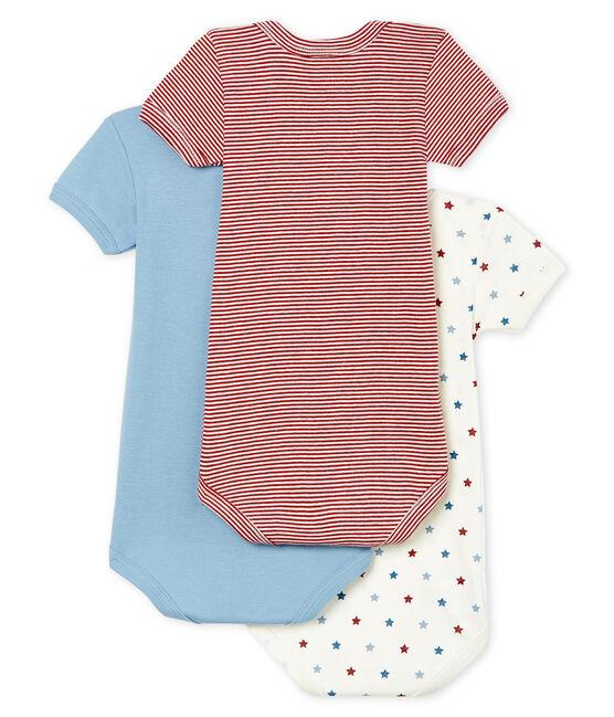 Trio de bodies manches courtes bébé garçon lot .