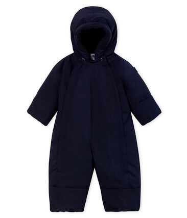 Combinaison de ski bébé mixte bleu Smoking