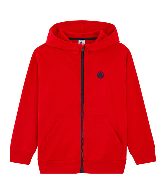 Sweat shirt enfant rouge Peps