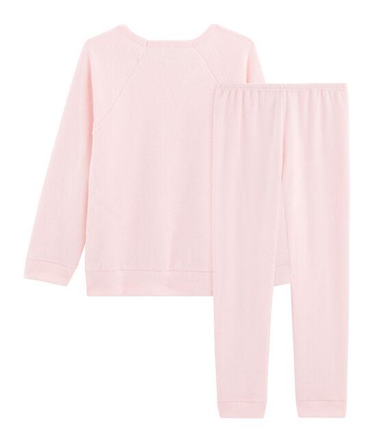 Pyjama petite fille en bouclette éponge grattée extra chaude MINOIS