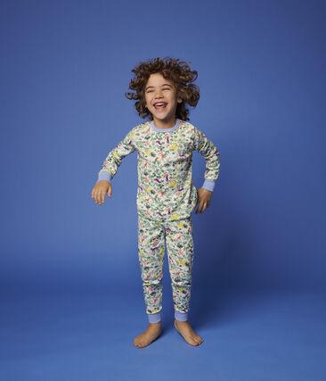 Pyjama imprimé jungle petit garçon en coton