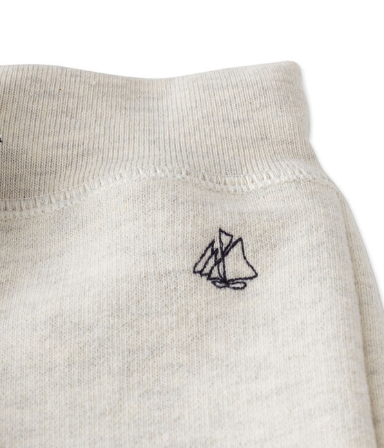 Pantalon de jogging bébé garçon en molleton gris Montelimar Chine