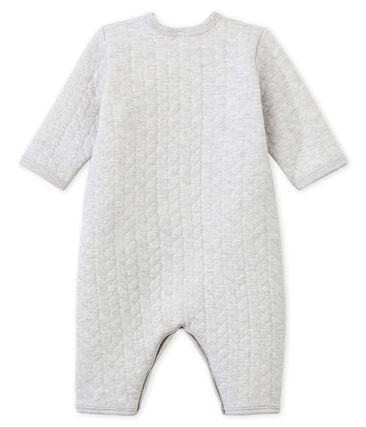 Dors bien sans pieds bébé mixte en tubique gris Beluga