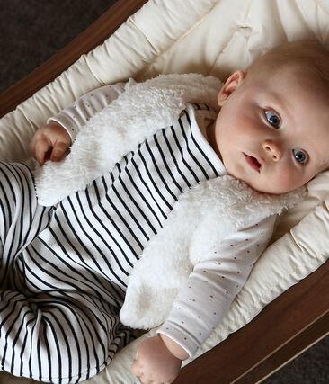 Gilet sans manches bébé fille en sherpa