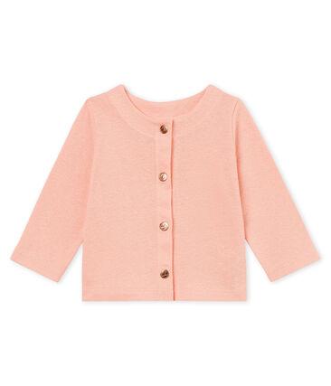 Cardigan bébé fille en coton/lin
