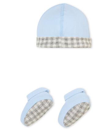Lot bonnet et chaussons bébé garçon