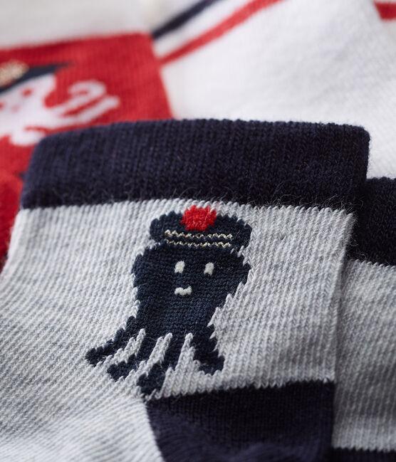 Lot de 3 paires de chaussettes bébé garçon lot .
