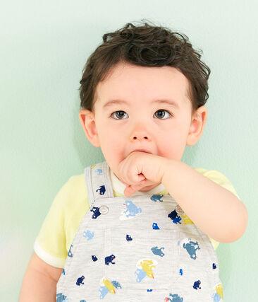 Tee-shirt manches courtes bébé garçon jaune Sunny