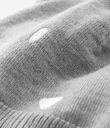 Bonnet bébé mixte gris Subway