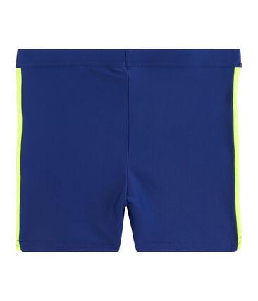 Maillot de bain UPF 50+ enfant garcon bleu Touareg