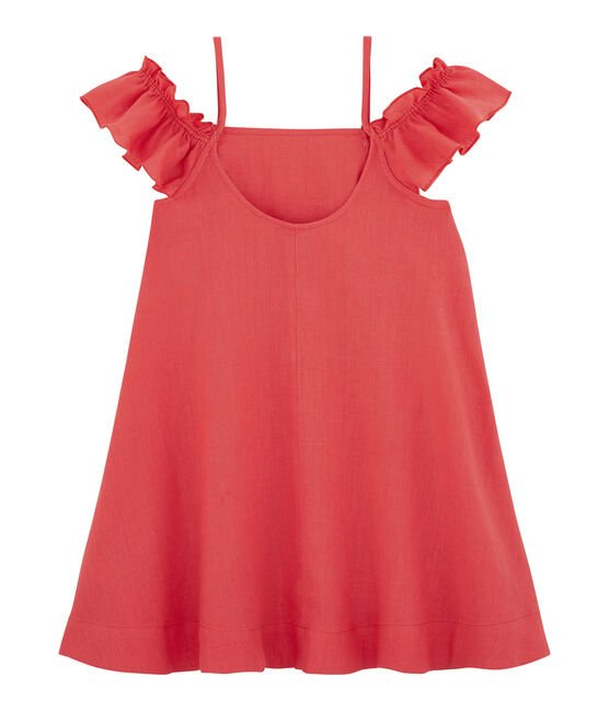 Robe enfant fille rose Groseiller