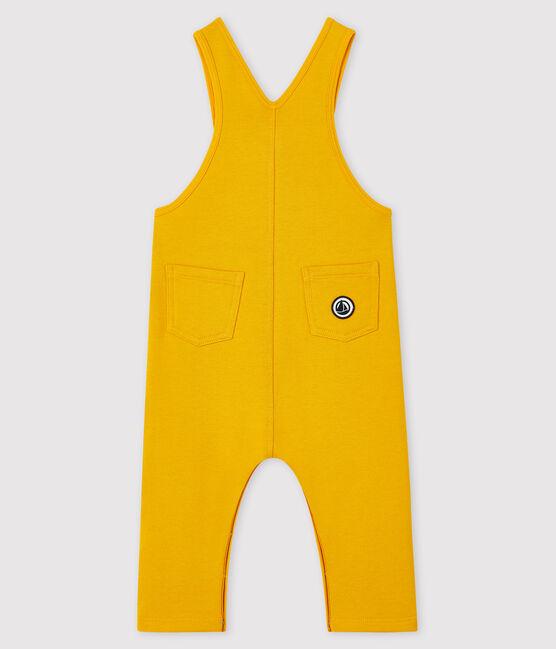 Salopette longue bébé garçon jaune Boudor