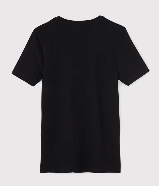 T-shirt manches courtes Homme noir Noir