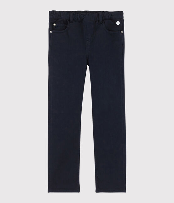 Pantalon enfant fille bleu Smoking Cn