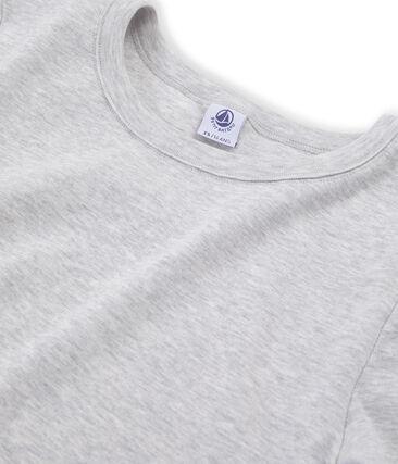 Tee shirt iconique femme gris Beluga