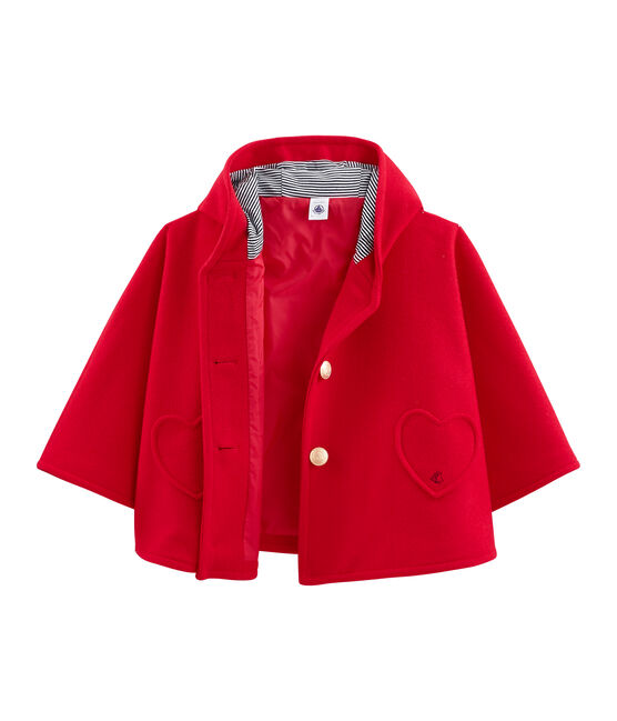 Cape enfant fille rouge Terkuit
