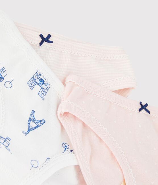 Lot de 3 culottes imprimé Paris petite fille lot .