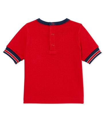 Tee-shirt manches courtes à motif bébé garçon