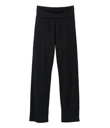 Pantalon maille femme