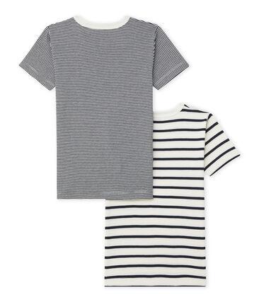 Duo de tee-shirts manches courtes petit garçon lot .