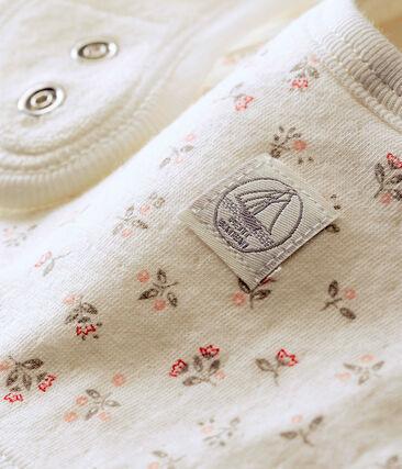 Bavoir bébé mixte en tubique imprimé