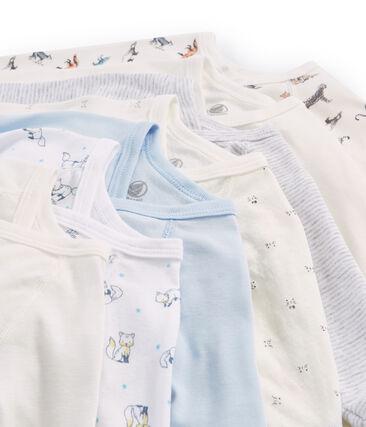 Pochette surprise de 7 bodies naissance manches longues bébé garçon lot .