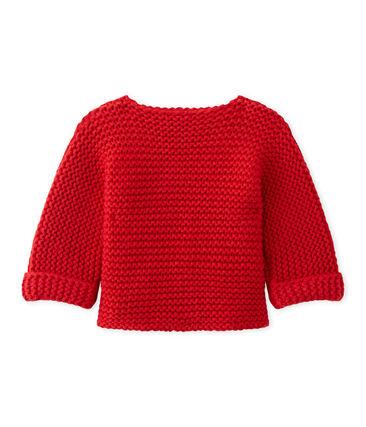 Cardigan bébé mixte laine et coton
