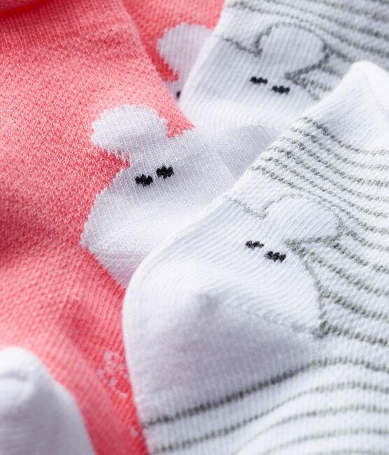Lot de 2 paires de chaussettes bébé mixte lot .