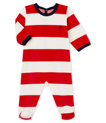 Dors bien bébé garçon rouge Terkuit / blanc Marshmallow