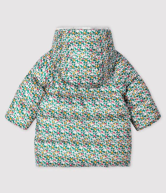 Doudoune matelassée bébé fille blanc Marshmallow / blanc Multico