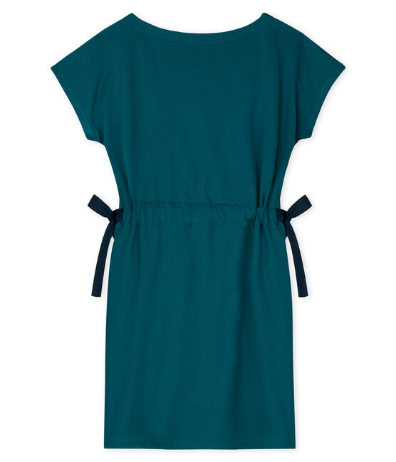 Robe manches courtes femme vert Pinede