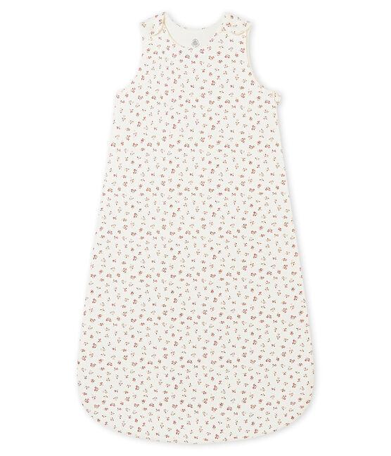 Gigoteuse bébé fille imprimée blanc Marshmallow / blanc Multico